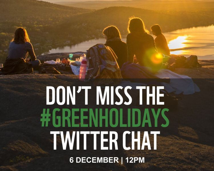 Guiding your #GreenHolidays