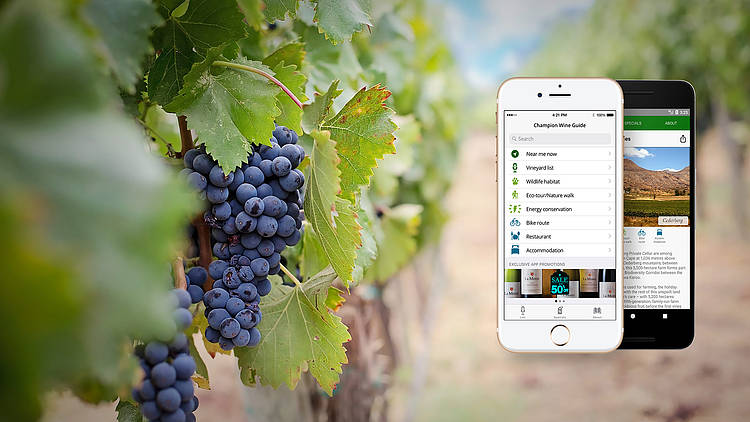 Explore champion wine farms with WWF's new app