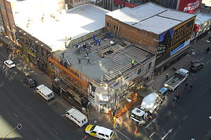 Progress on the Braamfontein build as at 10 July 2014.