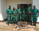 Rangers in the South East of Cameroon