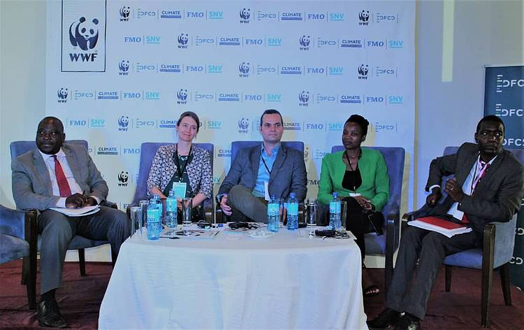 Consortium partners WWF and SNV officially launch the Dutch Fund for Climate and Development (DFCD) in Zambia