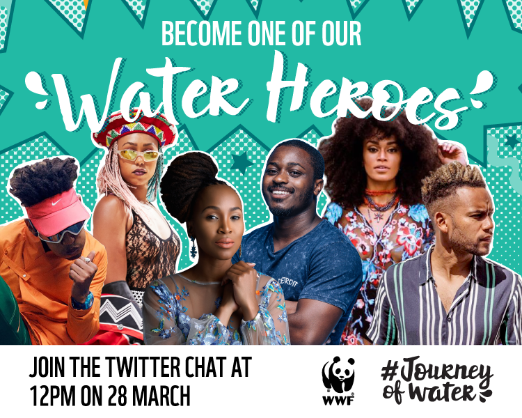 Twitter chat: Be a part of the solution as one of our #WaterHeroes