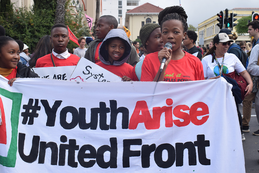 Youth arise climate change